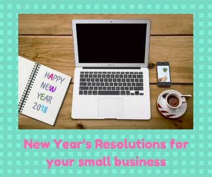 New Year's Resolutions for your small business